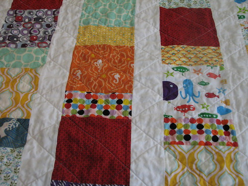 Baby Quilt - Detail
