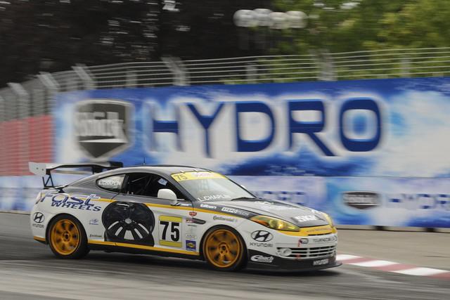 Lee Chaplin, Fastco Motorsports Hyundai Tiburon, Toronto