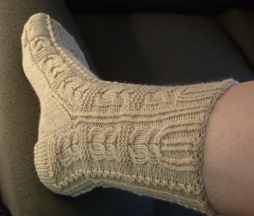 owl heels! by gradschoolknitter