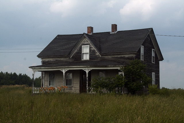 Abandoned Farm houses for Sale http://www.flickr.com/photos/dramamath/5952035261/