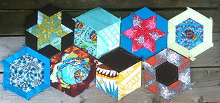 big hexies in progress for the HAL