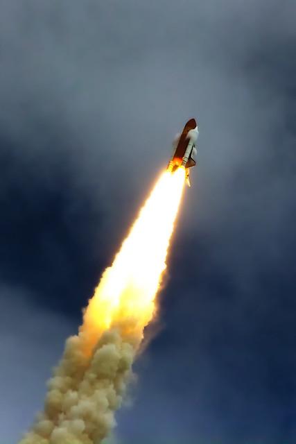 STS-135 Vapour Cones