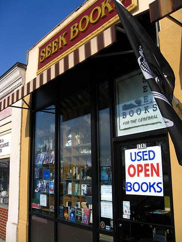 Seek Books storefront