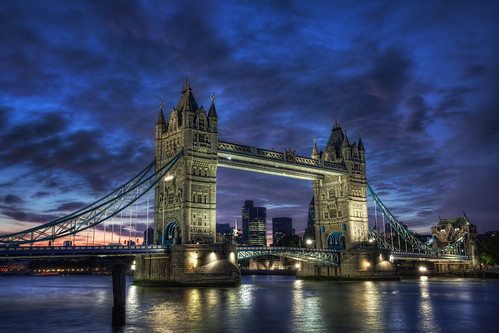 uk longexposure greatbritain bridge pink blue sunset england sky slr london tower water thames digital photoshop towerbridge canon reflections londonbridge river eos photo high europe dynamic suspension unitedkingdom capital lavender thecity landmark photograph processing slowshutter gb bermondsey 5d bluehour dslr range riverthames hdr highdynamicrange tower42 shadthames thegherkin cityoflondon markii bascule postprocessing flix photomatix londonlandmark 5dmarkii