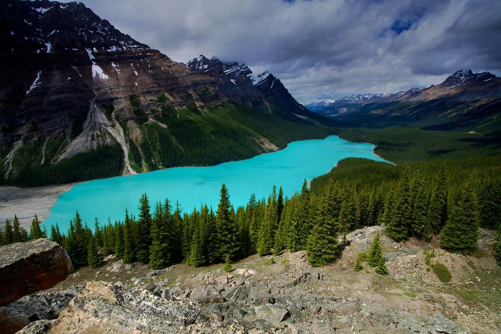 Peyto Lake, Banff NP Alberta Canada