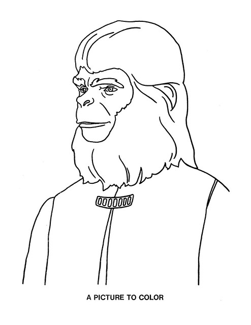 Planet of the Apes Activity Book 0100044