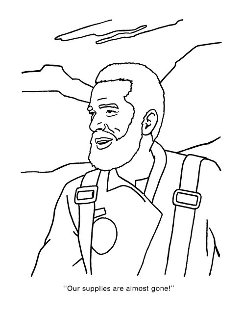 Planet of the Apes Coloring Book 0100018