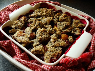 Tutti-Frutti Crumble: Ready To Travel