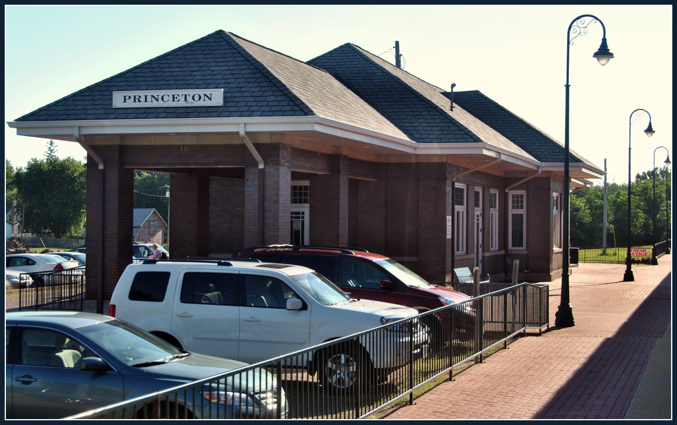 Illinois bureau county princeton - Travel Station Illinois July Amtrak Princeton Californiazephyr 2011