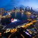 Singapore Skyline by Derrick H
