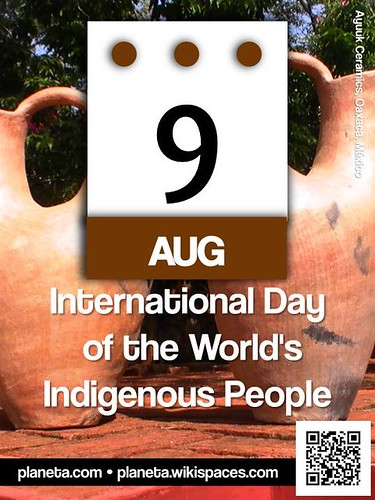 International Day of the World's Indigenous People: August 9 @UN @UN4Indigenous #IndigenousDay (attribution-sharealike license)