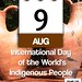 International Day of the World's Indigenous People: August 9 @UN @UN4Indigenous #IndigenousDay (attribution-sharealike license) by planeta