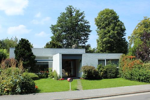 Sixties house, Baron Edouard Empainlaan, Mechelen