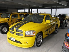 automobile, automotive exterior, pickup truck, dodge ram rumble bee, dodge ram srt-10, vehicle, truck, bumper, land vehicle, motor vehicle,