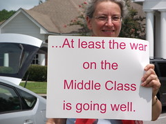 At least the war on the Middle Class is going well. by faul