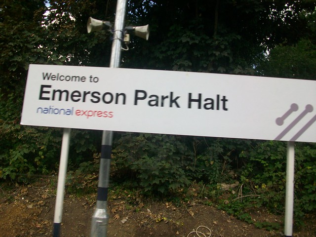 Welcome to Emerson Park (Halt)