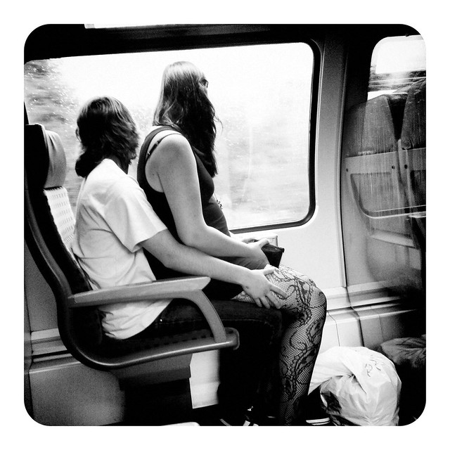 Today in the train...