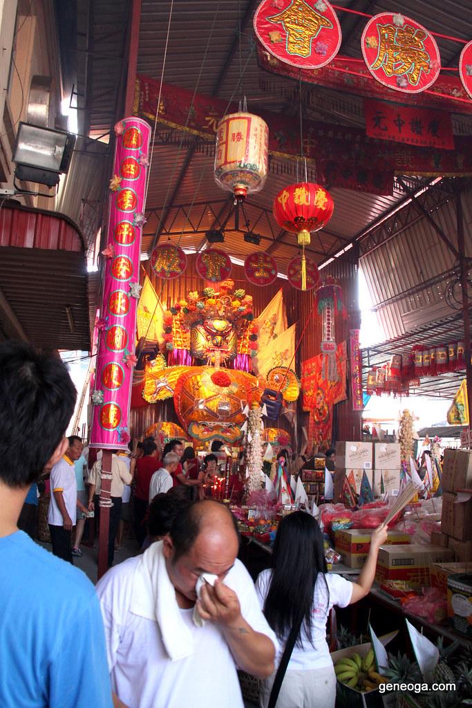 Tai Su Yah effigy at BM Market