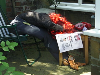 Rebekah Brooks scarecrow