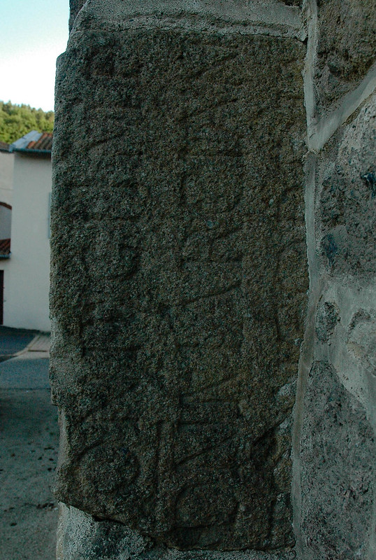réemploi gallo-romain - Lavôute-sur-Loire