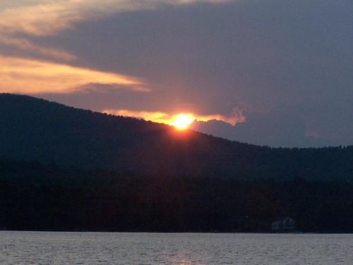 sun lake setting chazylake chazy andyarthur