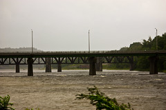 The Mighty Kennebec during Irene