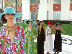 Fashion show in Puerto Vallarta