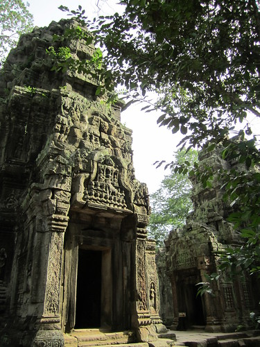 temples at Ta Prohm