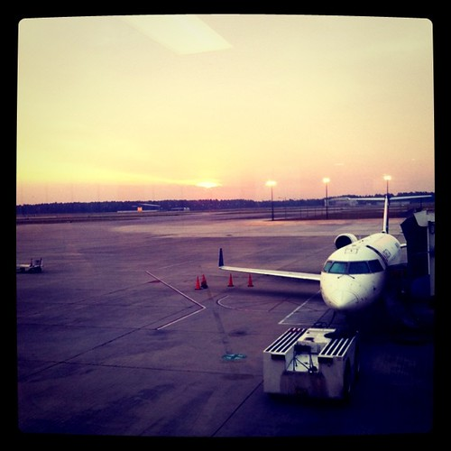 plane sunrise square airplane airport mob squareformat iphoneography mobileregionalairport instagramapp xproii uploaded:by=instagram foursquare:venue=4b205dc9f964a5204d3124e3