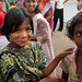 Girls at Bangla New Year's Celebration - Rangamati, Bangladesh