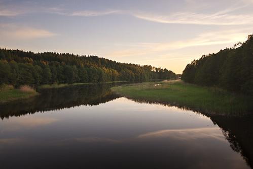 sunset river sweden sverige stångån östergötland sigma1020mmf456exdchsm sturefors canoneos7d ginordic1