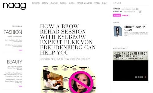 Naag.com Brow Rehab Service