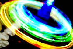 wheel(0.0), flame(0.0), vortex(0.0), yellow(1.0), light(1.0), macro photography(1.0), green(1.0), neon(1.0), circle(1.0),