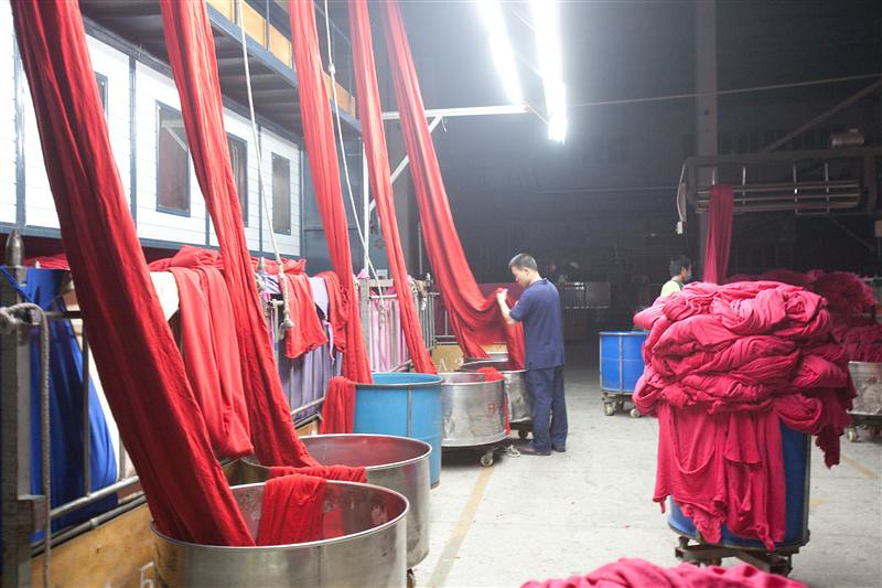 Toxic water pollution and textile manufacturing in China