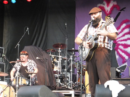 Reverend Peyton's Big Damn Band at Ottawa Bluesfest 2011