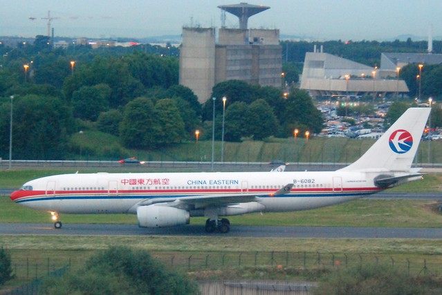 China Eastern Airlines Airbus A330-243; B-6082@CDG;10.07.2011/605ac