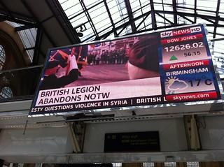 British Legion abandons NOTW