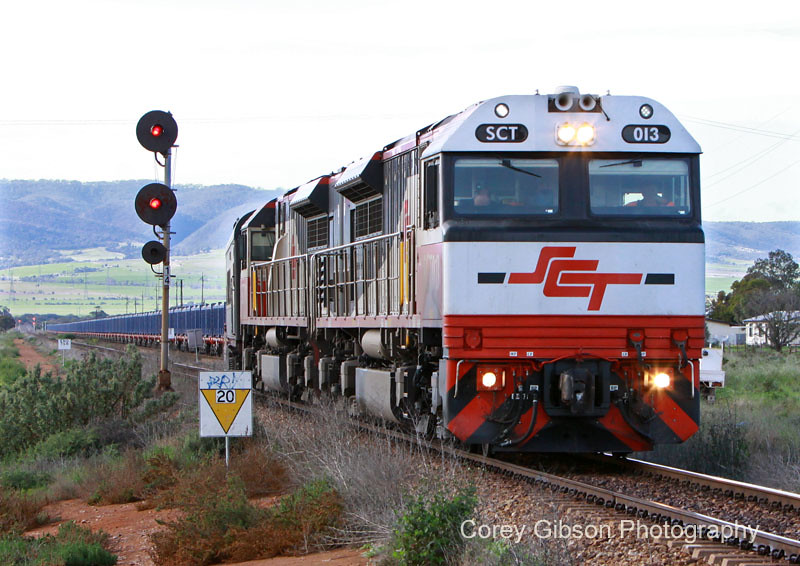 SCT013 & SCT 011 at Coonamia by Corey Gibson