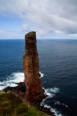 Old Man of Hoy from Cliffs