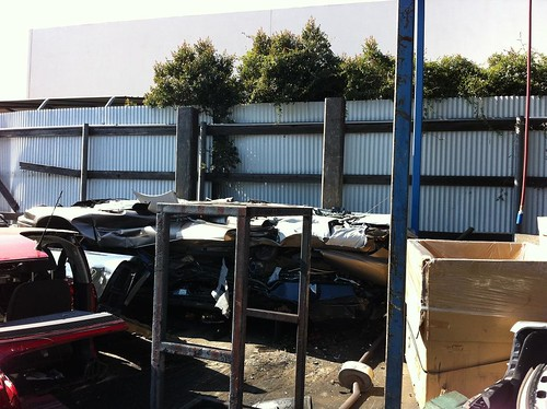 whats left after car crushing machine