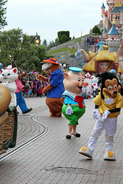 A very special version of Disney's Once Upon a Dream Parade