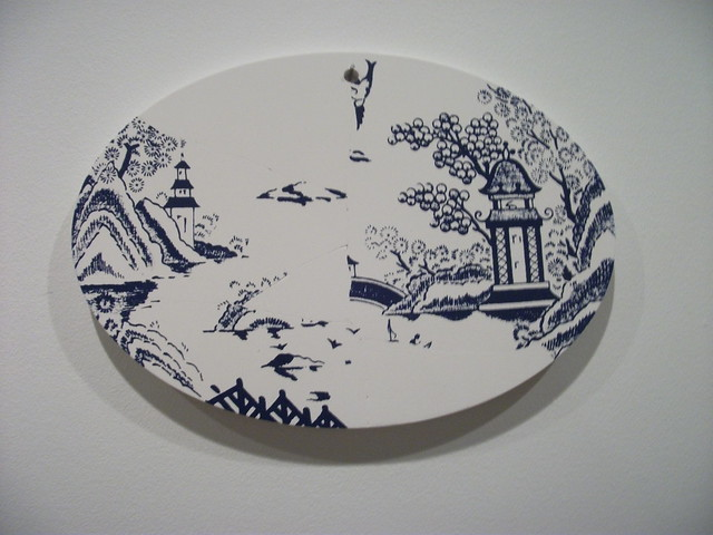 Header of china plate