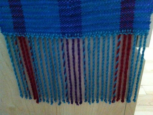 Beginner weaving project