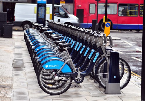 Barclay Bike station, London