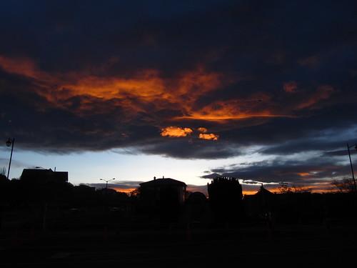 sonnenuntergang wolke oamaru neuseeland leuchtendewolke