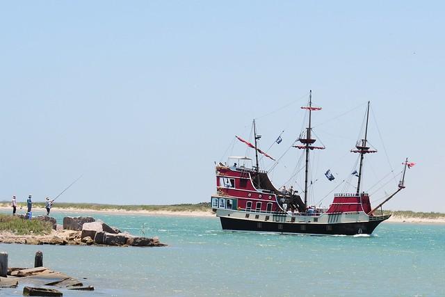 Black Dragon Pirate Ship, Port Isabel, South Padre Island ...