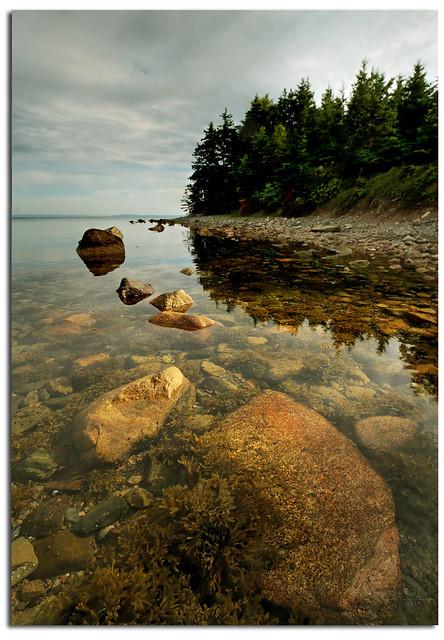 Morrison Head Island Shoreline Cape Breton