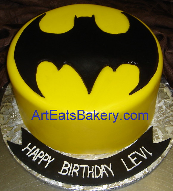 Batman Bday Cakes A Gallery On Flickr