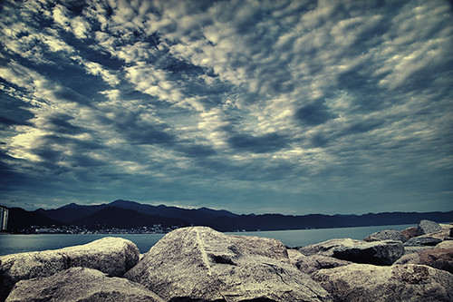 ocean longexposure beach mexico sand rocks surf pacificocean puertovallarta ndfilter