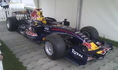 Current 2011 F1 Red Bull Racing Car